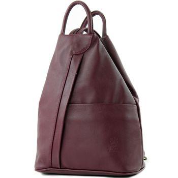 modamoda de - T180 - ital Damen Rucksack Tasche Nappaleder  – Bild 7
