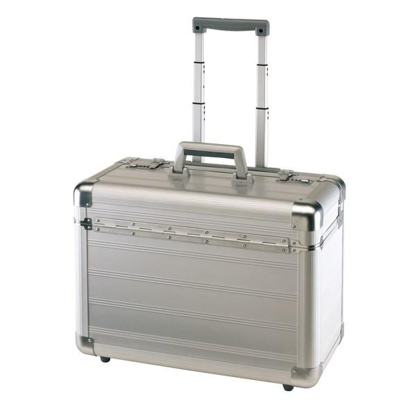 trolley pilotenkoffer aus aluminium business yg 0202603a. Black Bedroom Furniture Sets. Home Design Ideas