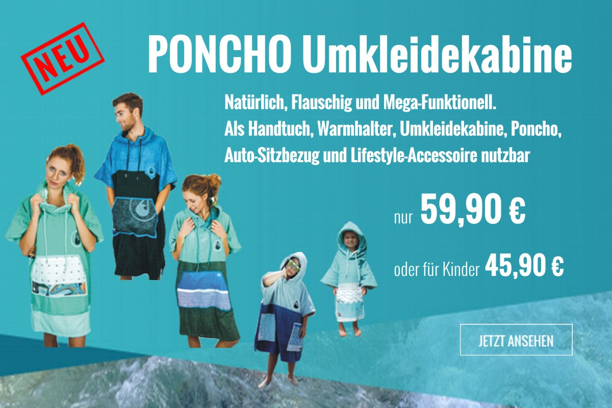 Poncho Umkleidekabine