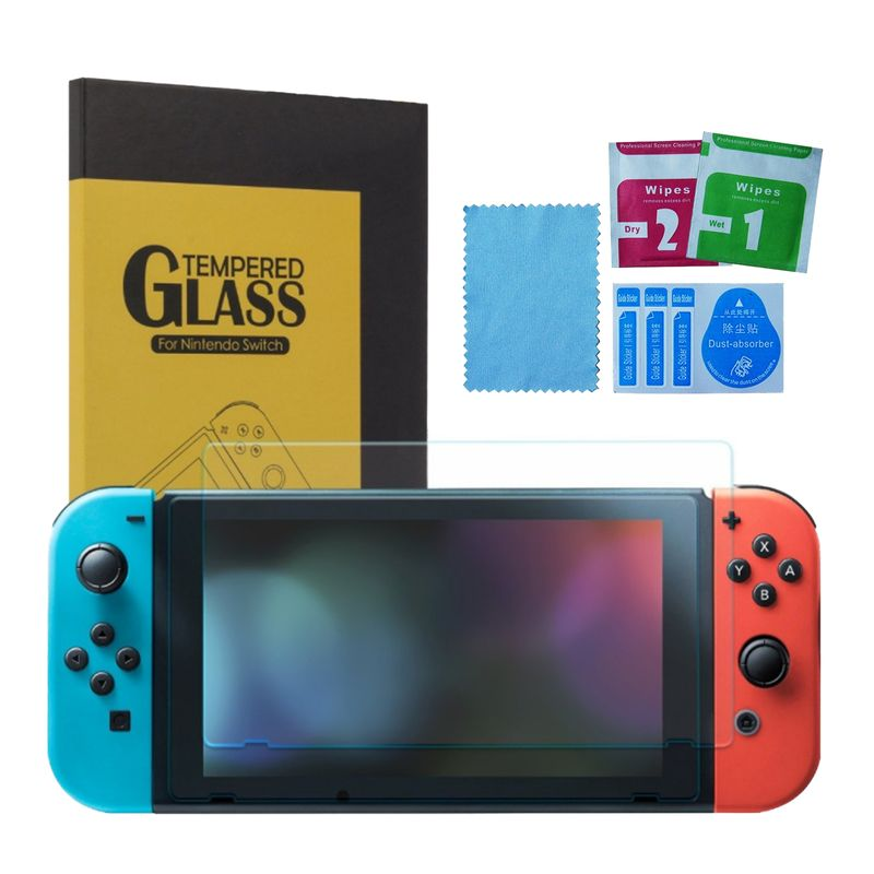 Tempered glass / screen protector / Burst screen safety glas 9H for Nintendo Switch