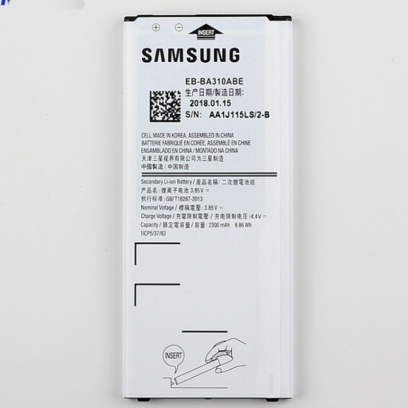 Battery for Samsung Galaxy A3 A310F (2016) ORIGINAL BATTERY EB-BA310ABE – Bild 3