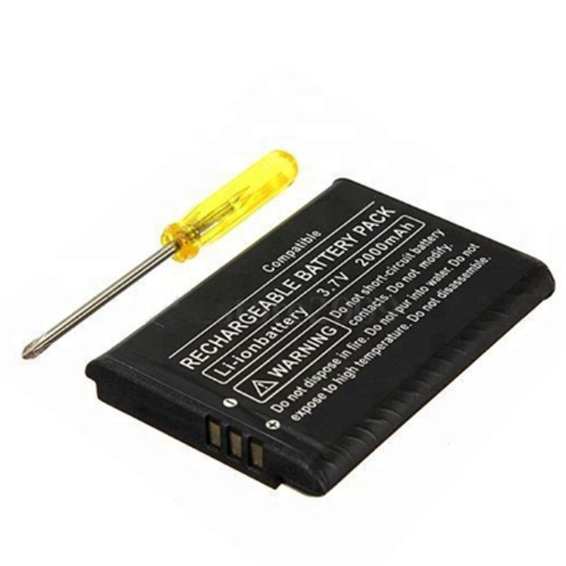 Battery for Nintendo 3DS, 2000 mAh with screwdriver, compatible CTR-003 – Bild 2