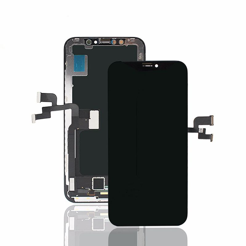 Common quality LCD Digitizer Touch pad with Front panel Glass Cover for iPhone X black – Bild 2