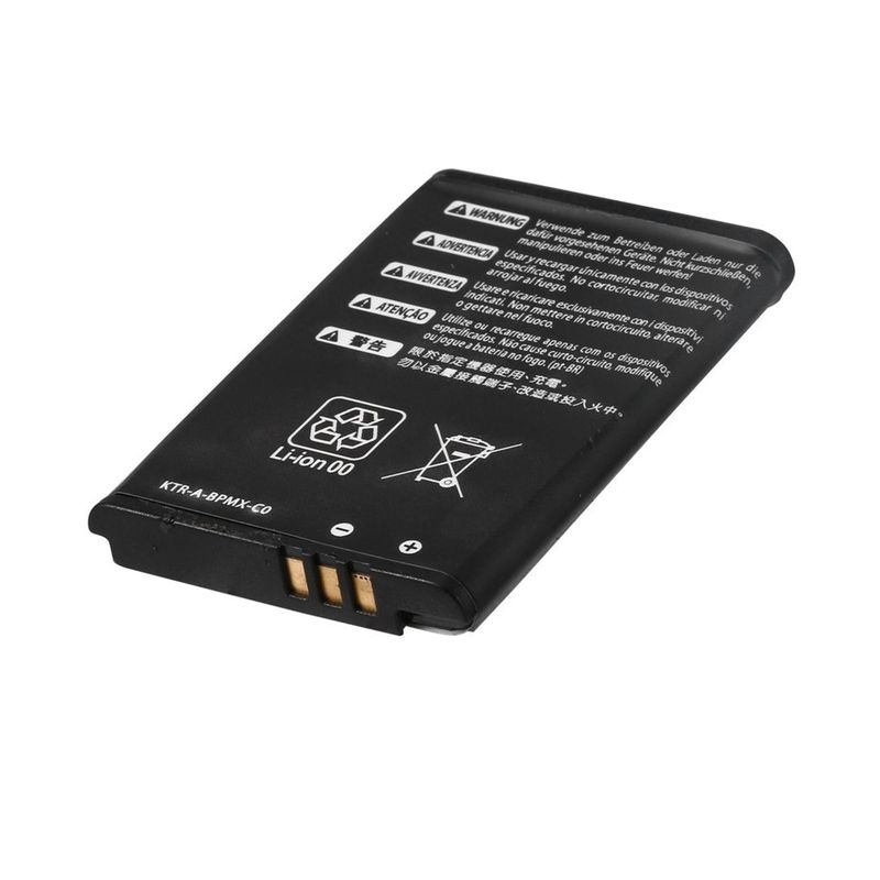 Battery suitable for Nintendo NEW 3DS, 2000 mAh with screwdriver, compatible KTR-003 – Bild 1