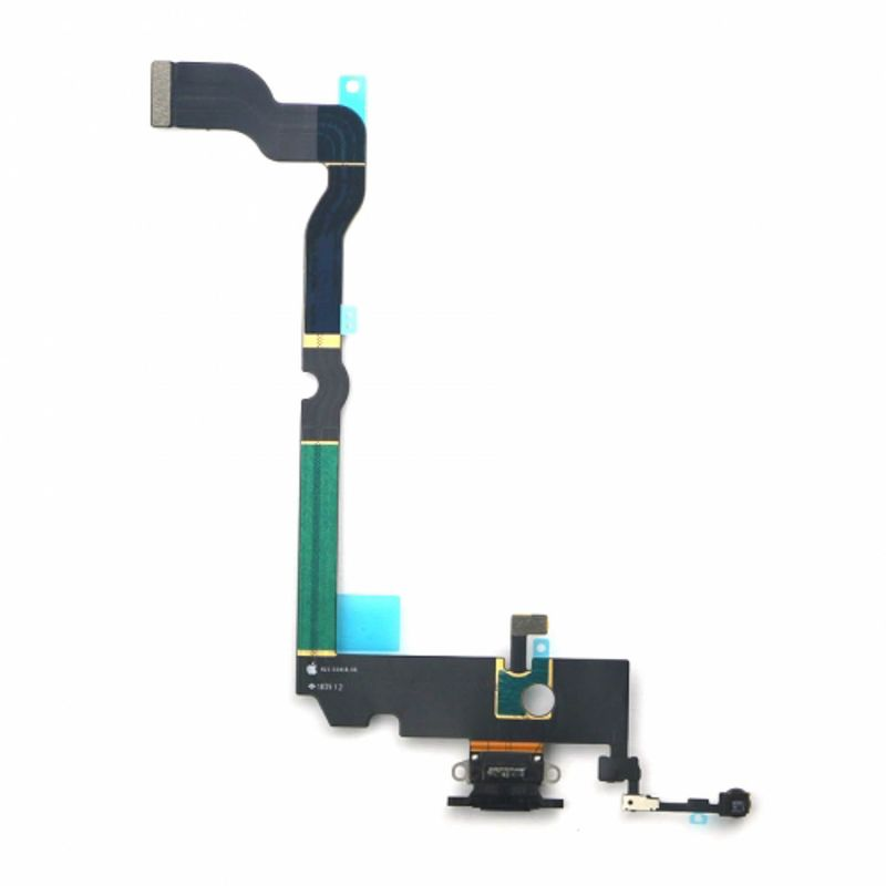 Docking port with Headphone Jack and Flexkabel suitable for iPhone XS max – Bild 9
