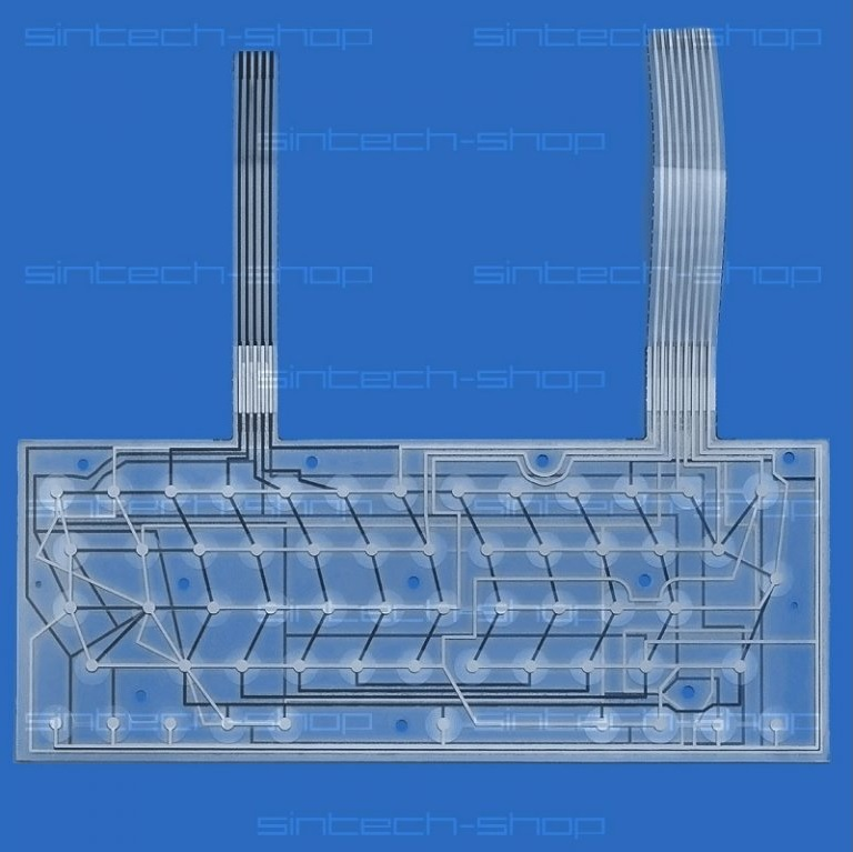 Sinclair ZX Spectrum 48k+/128+ replacement Keyboard Membrane (Made in 2019)