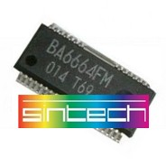 BA6664FM Chip for PS2