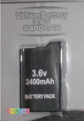 Battery 2400 mAH for  PSP SLIM