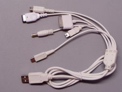 6in1 USB-cable for NDSi/NDSL/NDS/GBA SP/PSP/MINI 5P/iPOD/iPhone/iPad 001