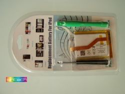 Battery with tools for iPod Touch 2G + iPod Touch 3G 001