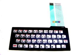 Sinclair ZX81 replacement keyboard membrane 001