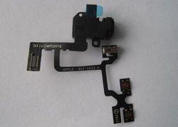 IPhone 4 Headphone Jack with flex, black 001