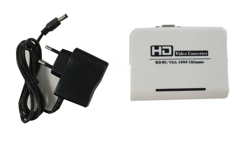 HDMI Converter to VGA and3,5mm Audio – Bild 1