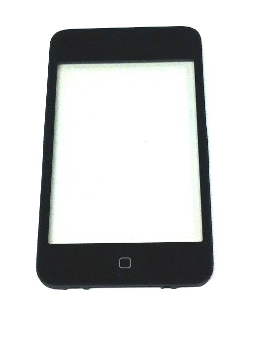 Touchscreen + Rahmen + Home Button mounted for iPod Touch 2G