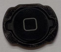 Home Button for iPod Touch 4, black 001