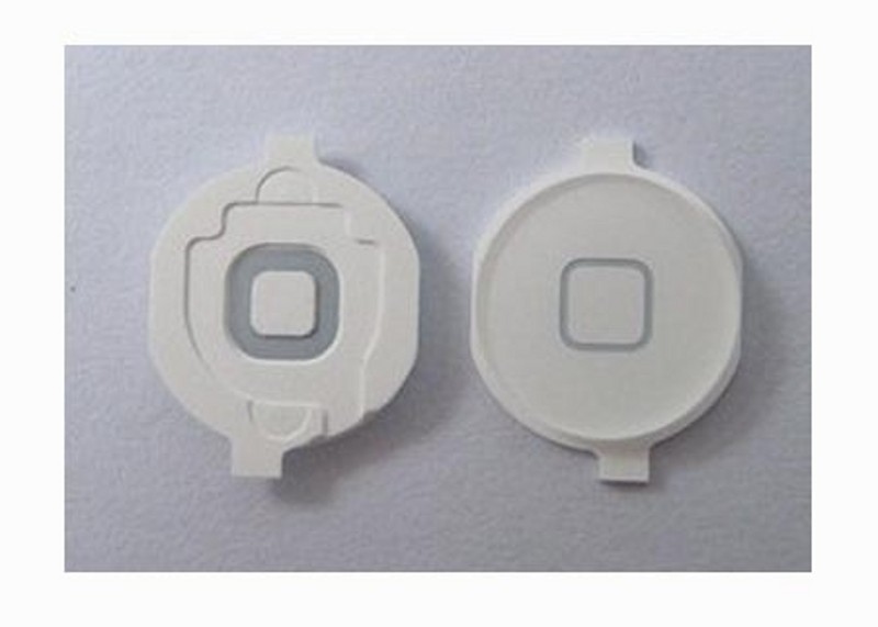 Home Button for iPad2, white,  with spacer