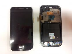 Samsung Galaxy SL (i9003) Display (Touchscreen + LCD) with frame 001