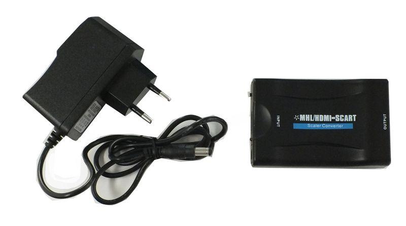 HDMI to SCART Downscaler Converter           – Bild 1