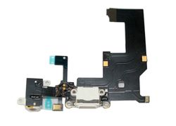 Docking port with Headphone Jack for iPhone 5 black