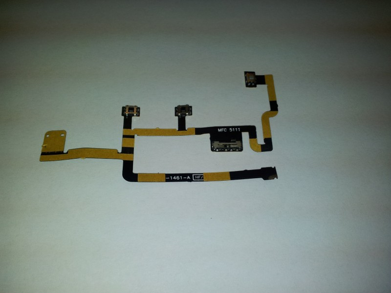 Power On Off Switch Mute Volume Button Key Flex Cable for Apple iPad 2 (new version 2012, APN 821-1461-A)
