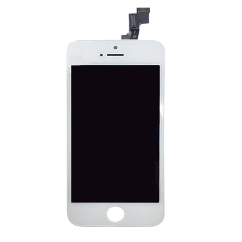 Display for iPhone 5 white, complete SINTECH© Premium - Quality