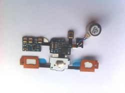 Homebutton Flex for Samsung Galaxy S (i9000) with LED, Vibration and microphone 001
