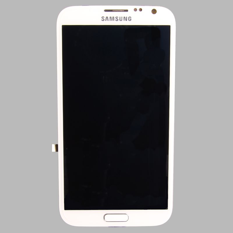 Samsung N7100 Note 2 Display unit in white – Bild 1