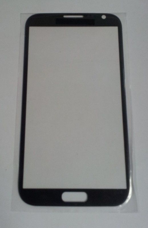 Front Glass titanium grey (LCD Display and Touch Screen not included) for Samsung Galaxy Note 2 N7100