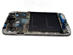 Front frame for Samsung Galaxy S4  i9505 silver 001