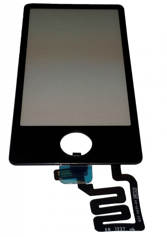 Apple iPod Nano 7G replacement Touchscreen (black surround)