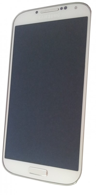 Samsung I9195 LTE Galaxy S4 Display unit with frame in white