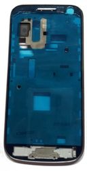 Front frame for Samsung Galaxy S4 Mini LTE i9195 in silver 001