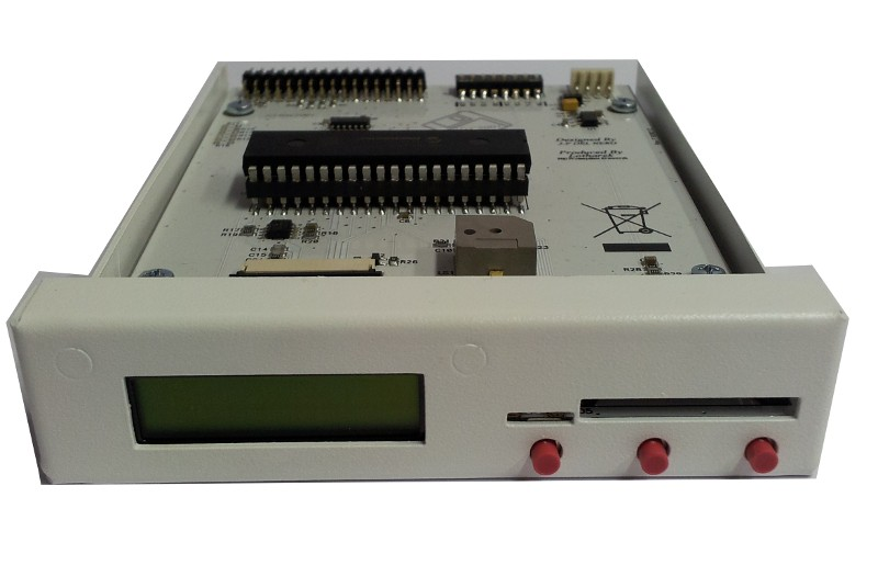 Newest version: HxC SD Floppy Emulator Rev. F in white case