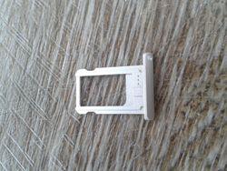 Sim Card Tray (silver) for iPad Mini 1/2/3 white 001