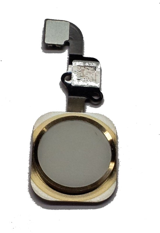 iPhone 6 gold Home Button with fingerprint sensor