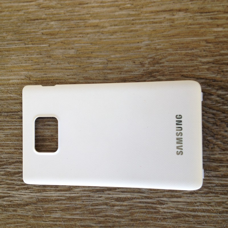 Used Battery cover white for Samsung Galaxy S2 i9100