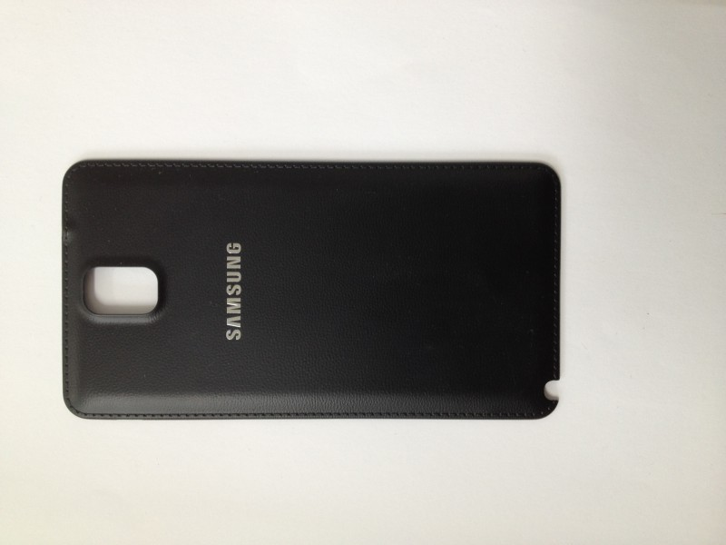Used Battery cover black for Samsung Galaxy Note 3 N9000 / N9005