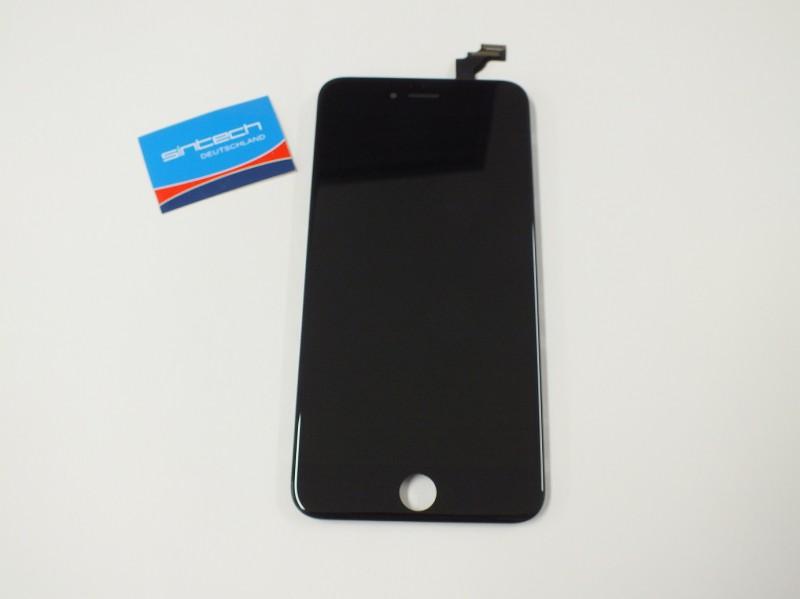 "Display LCD Digitizer Touch pad with Front panel Glass Cover for iPhone 6+ (5,5"") black SINTECH© Premium - Quality"