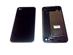 Back cover for iPhone 4, black 001