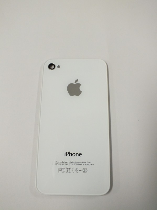 Back cover for iPhone 4, white