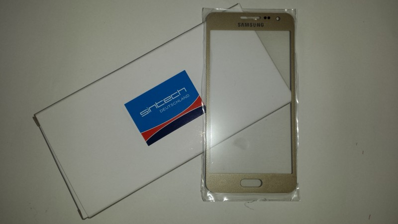 Samsung Galaxy A3 (A300F) Front Glass Champagne gold (LCD Display and Touch Screen not included)