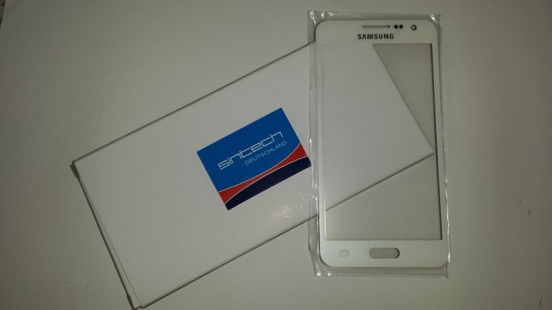 Front Glass Platinium Pearl white (LCD Display and Touch Screen not included) for Samsung Galaxy A3 (A300F)