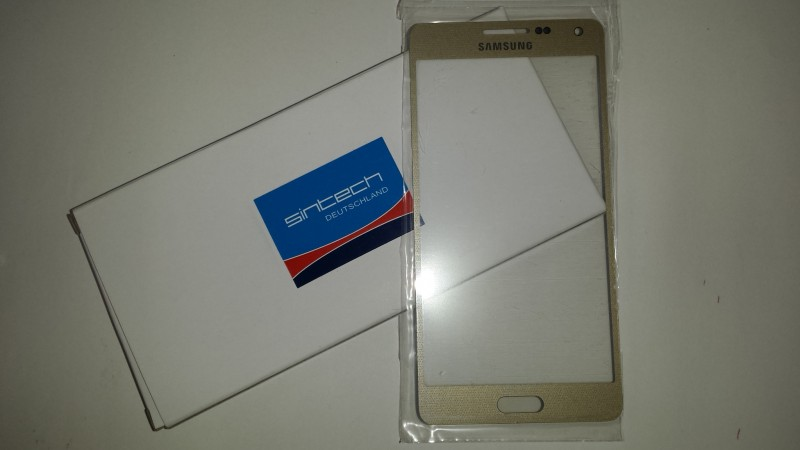 Samsung Galaxy A5 (A500F) Front Glass Champagne gold (LCD Display and Touch Screen not included)