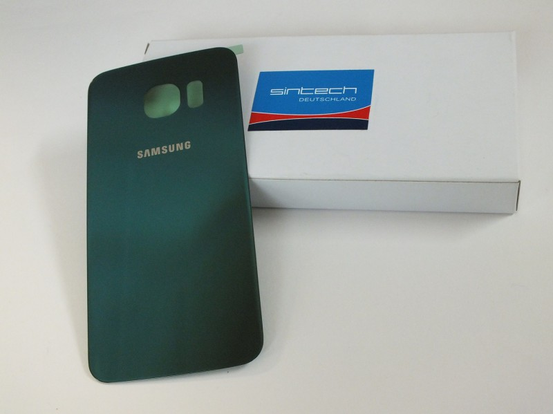 Backcover green emerald for Samsung Galaxy S6 Edge G925F  GH82-09602E