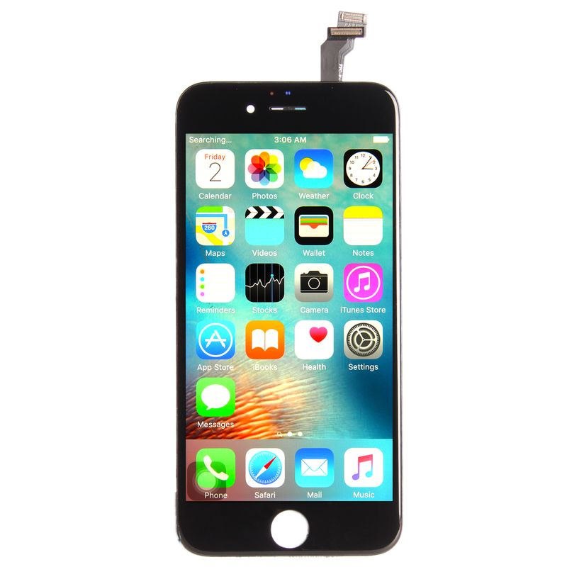 Common quality LCD Digitizer Touch pad with Front panel Glass Cover for iPhone 6 black – Bild 3