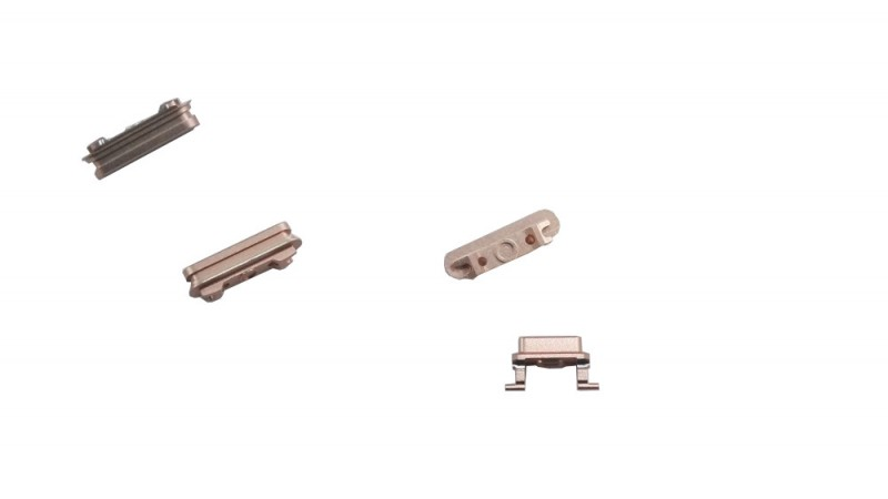 Button set (volume, mute and power button) for rosé-golden iPhone 6S+