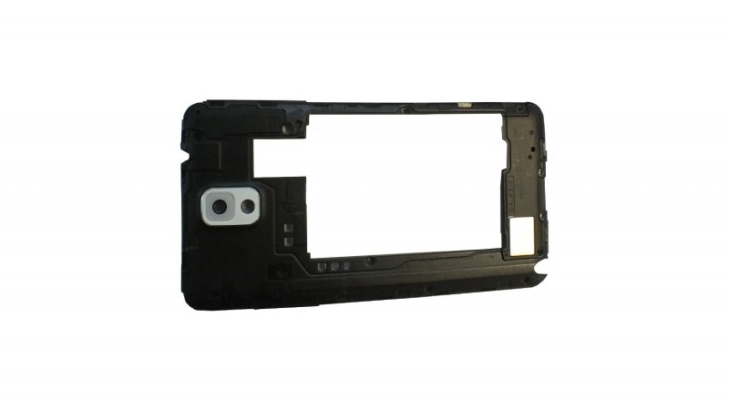 Middle frame for Samsung Galaxy Note 3 N9005 with white camera lens