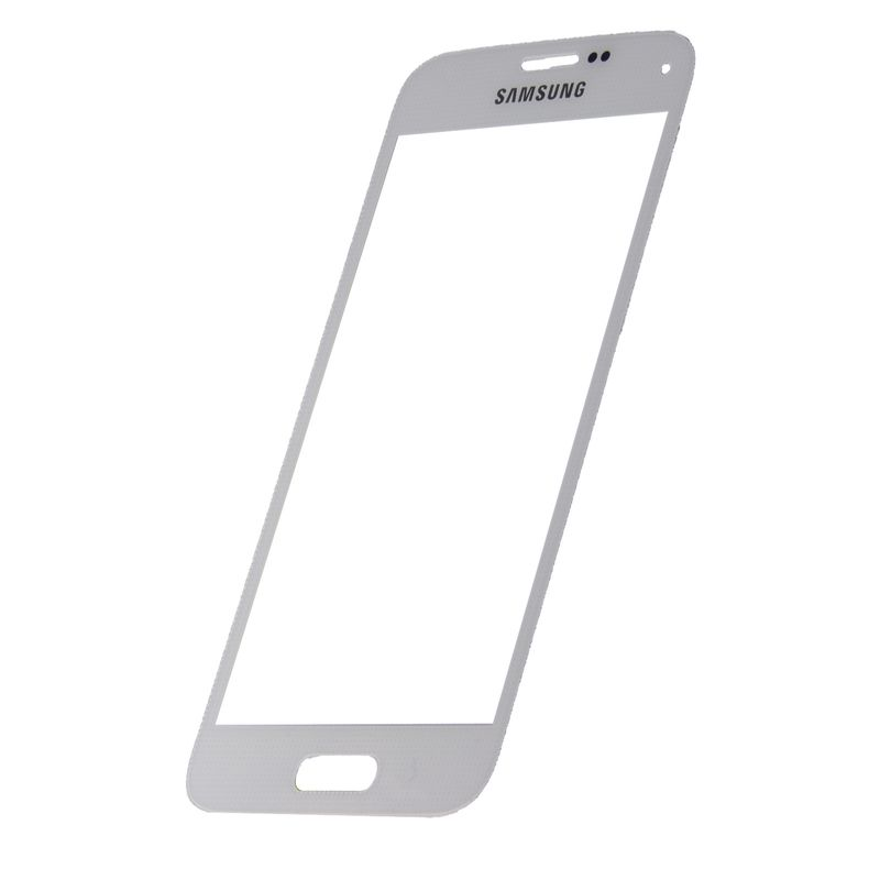 Samsung Galaxy S5 Mini G800f white Front Glass (LCD Display and Touch Screen not included)