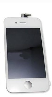 SINTECH© Premium display for iPhone 5 white, complete