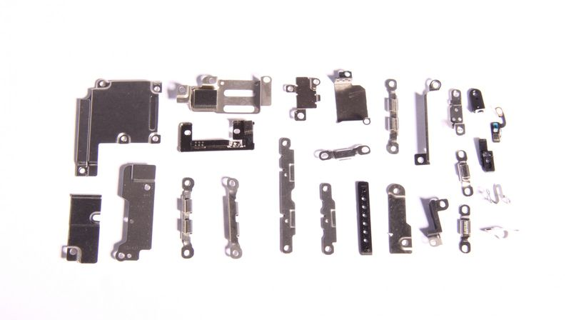 Set of internal metal brackets for iPhone 6+
